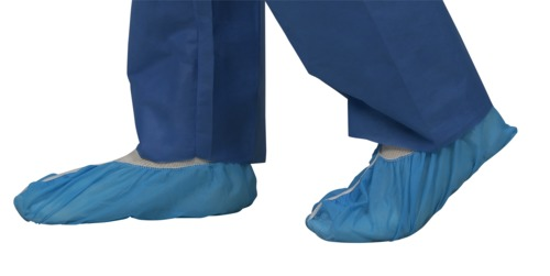 SMS Shoe Covers with Non-Skid Bottom