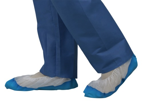 Spunbound and Polyethylene Shoe Covers