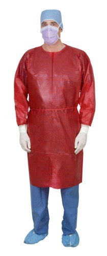 Single-Use Bilaminate Isolation Gown