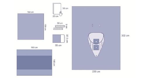 Essential Arthroscopy Drape Pack 4