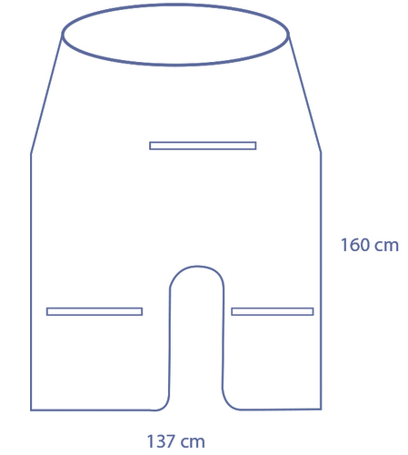 Universal mini C-arm cover