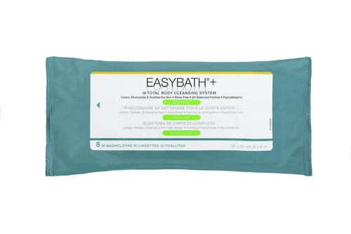 EasyBath Antibacterial Wash Cloths