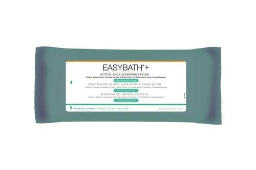 EasyBath Antibacterial Fragrance Free Bathing Cloths