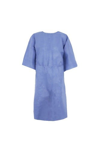 Single-Use Short Sleeves SMS Patient Gown