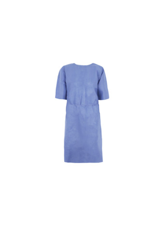 Single-Use Short Sleeves SMS Patient Gown For Kids