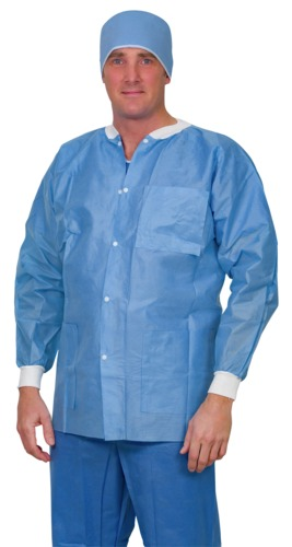 Single-Use SMS Lab Jacket