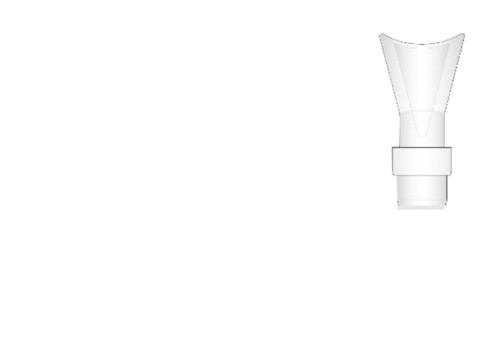 Universal Respiratory Aerosol Therapy Mouthpiece