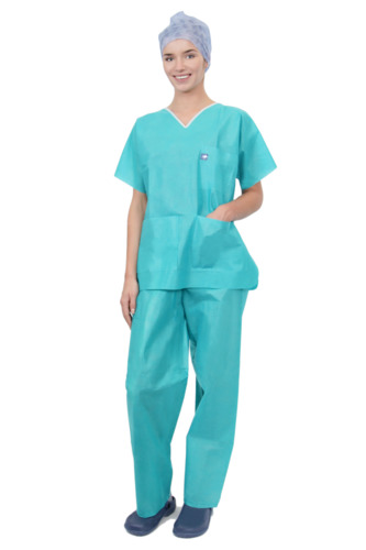 Single-Use Advanced Range SMS Scrub Suit Set