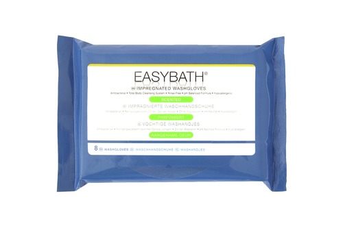 EasyBath Antibacterial Scented Wash Gloves