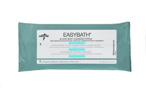 EasyBath Fragrance Free Bathing Cloths (M0)