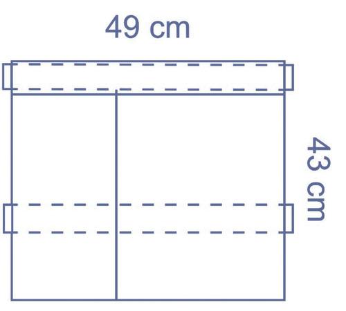 Invisishield Instrument Pouch - 2 Compartment