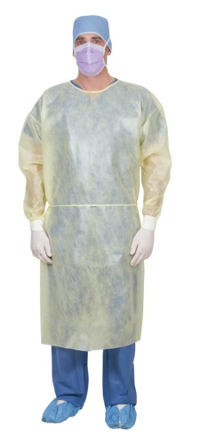 Sterile Single-Use Bilaminate Isolation Gown