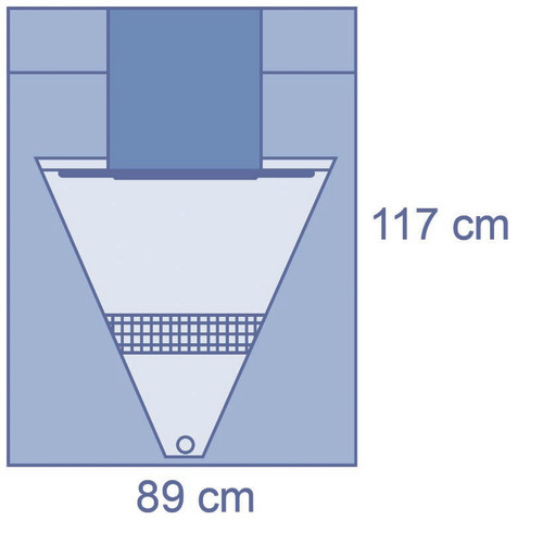 Under Buttock Drape with Pouch & Backing Panel