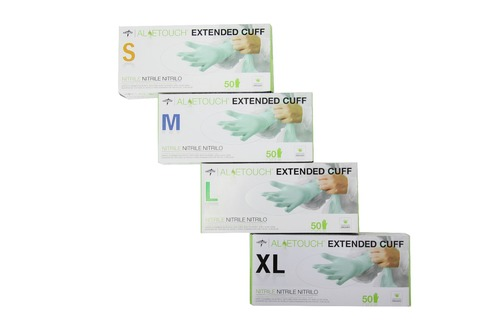 Aloetouch® Nitrile Exam Gloves - Extended Cuff