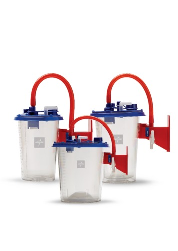 MED-SEMI RIGID Reusable Suction Canister