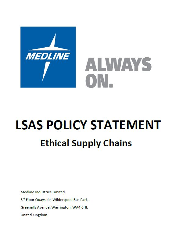 Medline LSAS Policy Statement